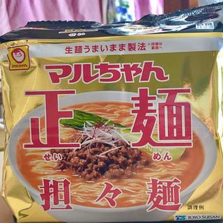 【締め切ります】マルちゃん正麺 坦々麺