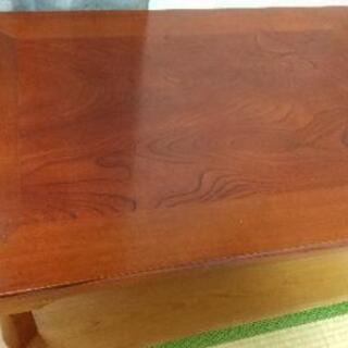 大香産業 天然木 座卓 テーブル