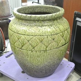 アンティーク 立派な壺 つぼ 甕 かめ 陶器 焼き物 レトロ 古民家