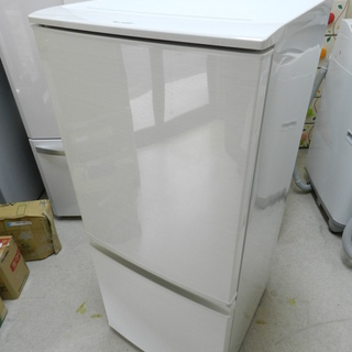 SHARP ノンフロン冷凍冷蔵庫 SJ-D14C 2017年製 ...