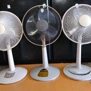短期使用中古格安 扇風機 30cm、背高約90~60cm伸長、マ...