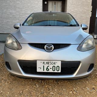 車検有デミオ4WD/DB-DE3AS/冬タイヤ/ドラレコ/エン...
