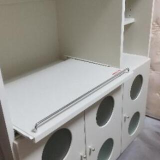 【取引中】食器棚・レンジ台