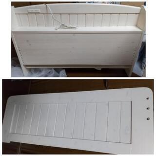 【取引中】セミダブル 組立式すのこベッド