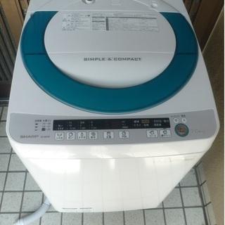 2015年製シャープ7キロ全自動洗濯機(ES-GE70P)