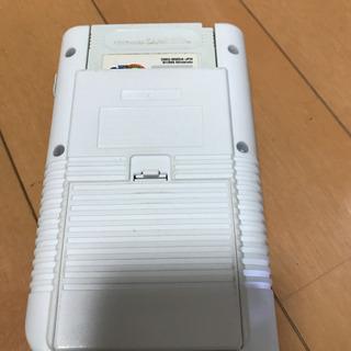 ゲームボーイ バックライト装着品&ゲームボーイ&専用モバイルバッテリー