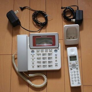 コードレス留守番電話機 PIONEER TF-LU150-R(本...