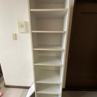 棚 本棚 ボックス ホワイト 7段