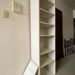 棚 本棚 ボックス ホワイト 7段 - 札幌市