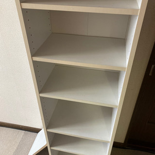 棚 本棚 ボックス ホワイト 7段 - 家具