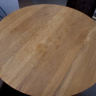 円形ダイニングテーブルセット 直径90㎝  食卓テーブル  西岡店 - 札幌市