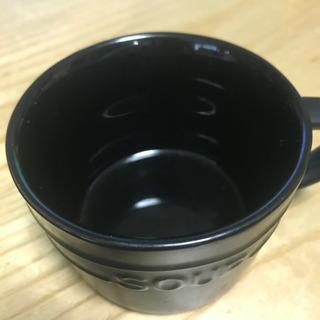 スープカップ コップ 黒