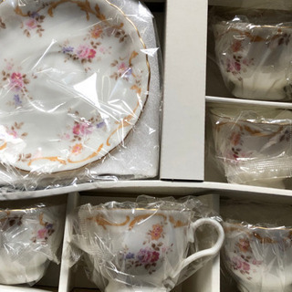 HOYA CUP & SAUCER 5客セット 新品