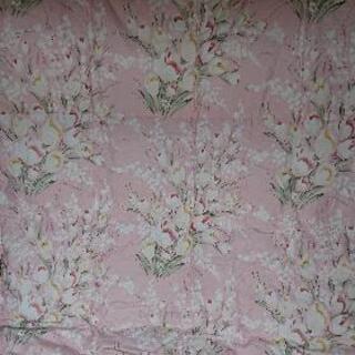 夏用羽毛掛け布団(新品未使用)ピンク値下げしました
