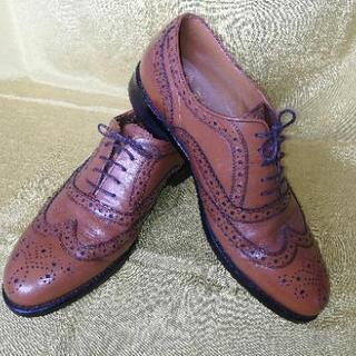 【大幅値下げ】紳士靴 茶色 26EEE STANDUKE