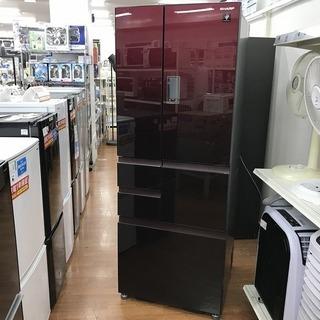 【SHARP】6ドア冷蔵庫 SJ-GX50D-Rあります!!