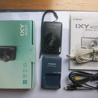 キャノン Canon デジタルカメラ IXY 400F ブラック...