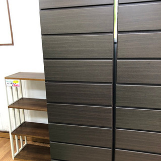 【リサイクルサービス八光 田上店】ニトリ ダークブラウン 9段チェスト