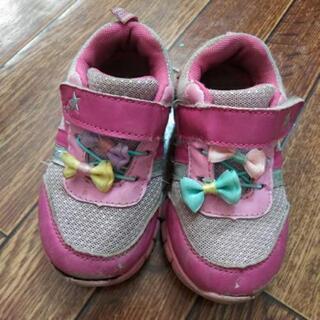 女の子 靴 15㎝