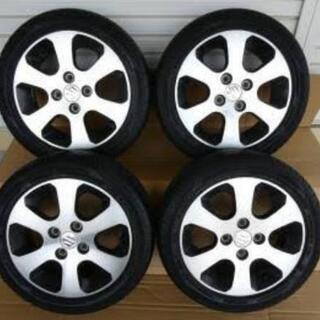 [商談中]ワゴンR 純正タイヤ&ホイール 4本セット