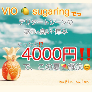 8月限定価格‼️シュガーリング🍋2000円OFF🌿