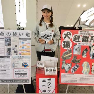 (即日日払い)1日2万円以上も可能!駅前での募金活動スタッフ募集