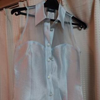 未使用 Versace ノースリーブシャツ