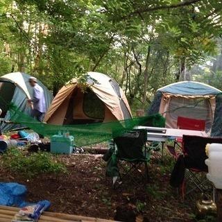 大自然満喫キャンプ 一泊二日を二回開催