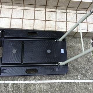 ナンシン  折り畳み台車コンパクトキャリー (積載荷重100kg...
