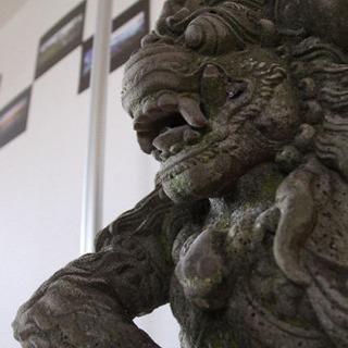【石像】バリ島でハンドメイド製作されたハヌマン像二体