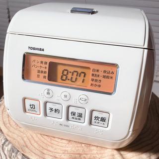 TOSHIBA 炊飯器 3合炊き RC-5SG ダイヤモンド銅コ...