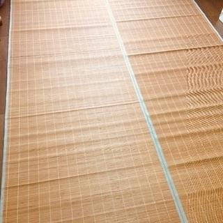 美品☆6畳 竹 大きなラグ 夏にぴったり