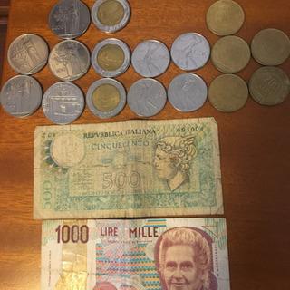 イタリア 古銭、古紙幣