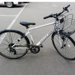 自転車 27インチ 白 ライト不調特価 サイクルベースあさひ オ...