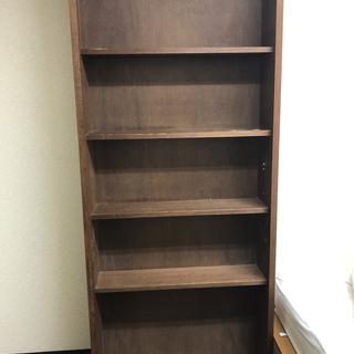 【無料】本棚 木製 アンティーク ビンテージ 古道具 大容量