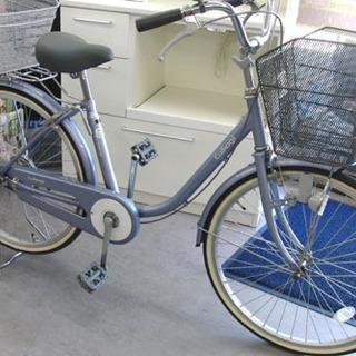 小柄な方に 24インチ シティサイクル 自転車 ママチャリ ブル...