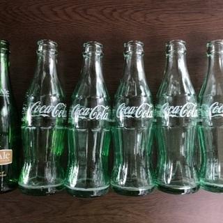 コカコーラ&ジンジャエールの空き瓶 洗浄済み‼️