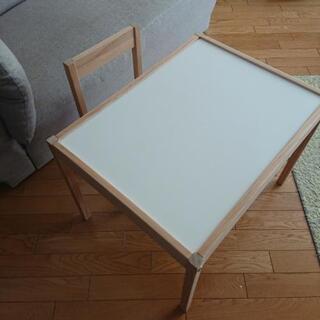 IKEA 子供テーブル 椅子 机 レット LATT