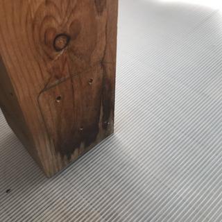 赤松角材(90mm×90×2000)×3本
