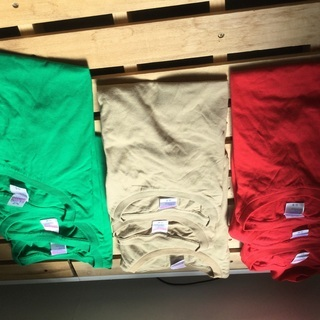 Tシャツ3カラー×3サイズ