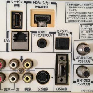 完動TOSHIBA19インチテレビ 中古 - 家電