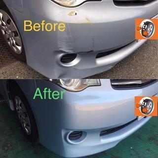 お車の傷・へこみ 綺麗にお安く直します! 京都タイヤBOX