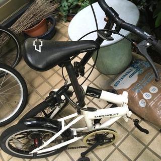折りたたみ自転車 16インチ - 横浜市