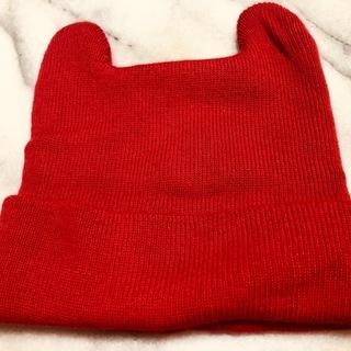 人形の帽子 頭囲28センチくらいです! ドール ニット帽