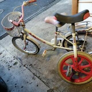 子供用自転車と一輪車✾