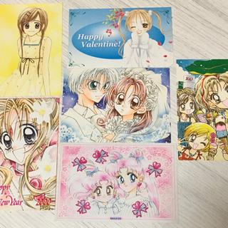 少女漫画 ポストカード6枚