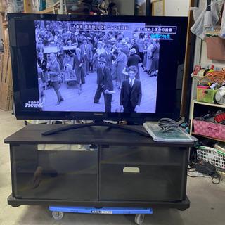 【ネット決済】東芝 REGZA 42型z  テレビ台付き