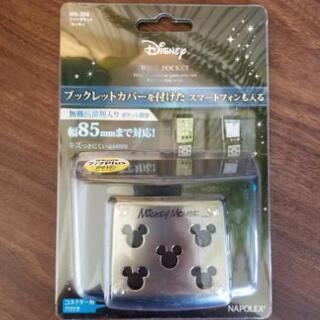【新品未開封】ミッキーマウス スマホホルダー