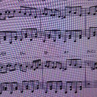 夜に駆ける(YOASOBI)のピアノ楽譜、上級レベル