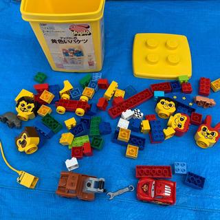 レゴ、黄色いバケツ